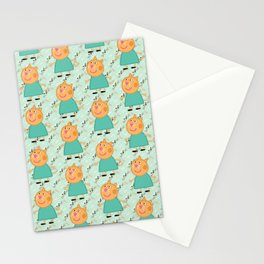 Peppa Pg Pattern 07 Stationery Cards
