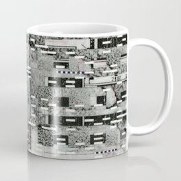 Highly Resolved Ghost (P/D3 Glitch Collage Studies) Coffee Mug