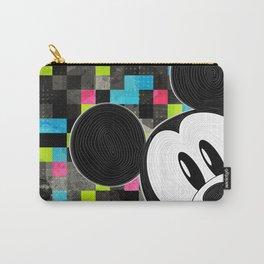 Mickey Swirl Pop Art Carry-All Pouch
