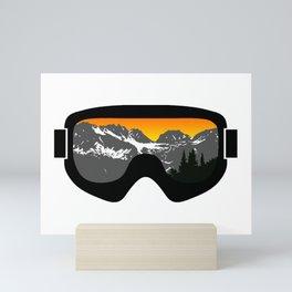 Sunset Goggles 2   Goggle Designs   DopeyArt Mini Art Print