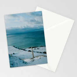 Winter at Voderup Klint Stationery Cards