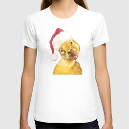 Christmas yellow duckling T-shirt