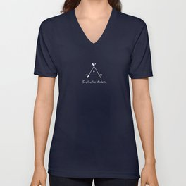 Small Logo - Instinctive Archers Unisex V-Neck