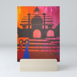 Indian Sunset Mini Art Print