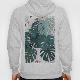 leaves+terrazzo Hoody