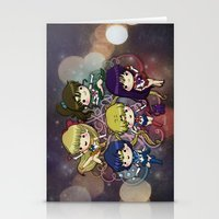 sailor moon Stationery Cards featuring Sailor moon by Madoso