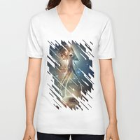 boats V-neck T-shirts featuring War Of The Worlds II. by Dr. Lukas Brezak