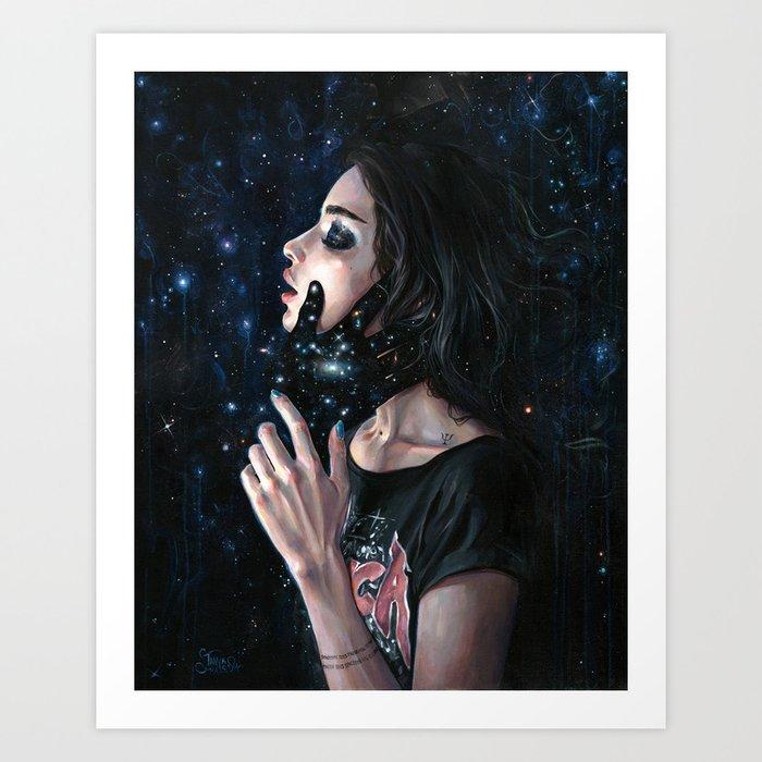 Gravity Trance Art Print