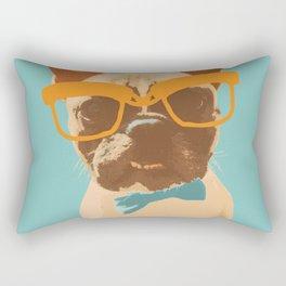 Dapper Frenchman Rectangular Pillow