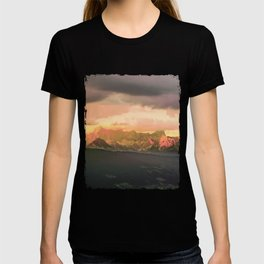 Escaping  -  Mountains - Dachstein, Austria T-shirt
