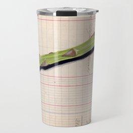 Asparagus in Gouache Travel Mug