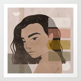 dreaming in hues Art Print