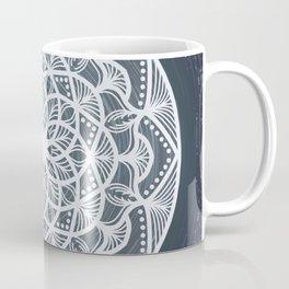Star Trail Mandala Coffee Mug