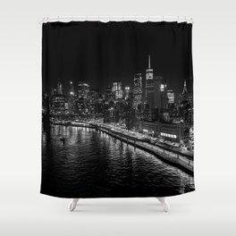 New York Nights Shower Curtain