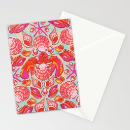 Lobster Pot Stationery Cards