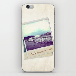 Fourth Sand Polaroid  iPhone Skin