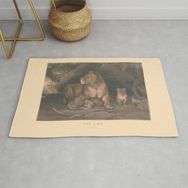 The Lion Rug