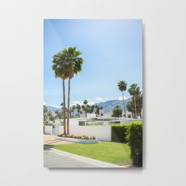 put the palm in palm springs Metal Print