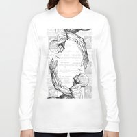 anatomy Long Sleeve T-shirts featuring Anatomy by Alberto P