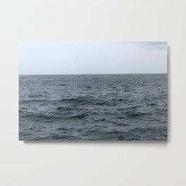 Stormy Waves Metal Print