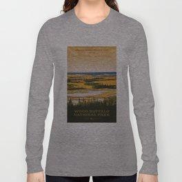 Wood Buffalo National Park Long Sleeve T-shirt