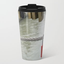 Love padlocks Travel Mug