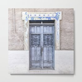 The Doors of Merida XXX Metal Print
