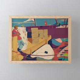 Rum Runners Framed Mini Art Print