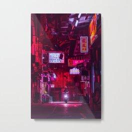 Macau at night Metal Print