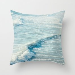 A Blue Day #3 Throw Pillow