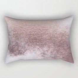 Princess Retro Rose Gold Blush Rectangular Pillow