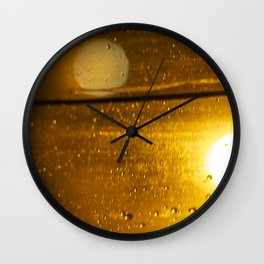 Bokah drops Wall Clock