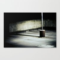 alone Canvas Prints featuring alone by dibec