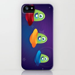 Baby Aliens iPhone Case