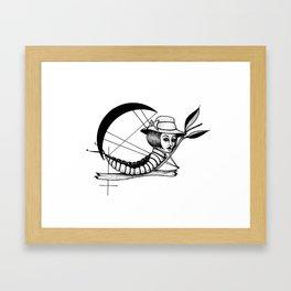 Bad Karma Framed Art Print