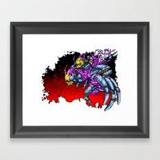 METAL MUTANT 5 Framed Art Print