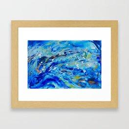 Big Waves Framed Art Print