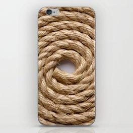 Sisal rope iPhone Skin