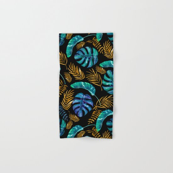 Tropical Leaf Hand & Bath Towel