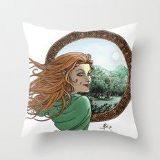 Elfic Throw Pillow