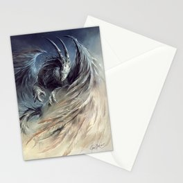 The Guardian of Dream - Art by Élian Black'Mor Stationery Cards
