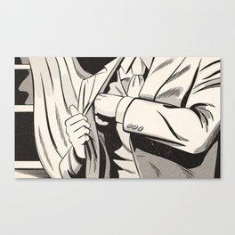 NOIR no.01 (REACH) Canvas Print