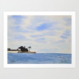 House On The Ocean Art Print