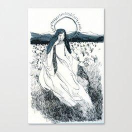 Ink Saint Canvas Print