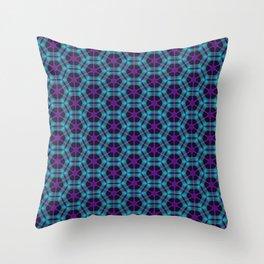 Neon Flux 05 Throw Pillow