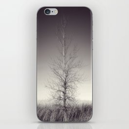 THE LAST TREE  (magenta) iPhone Skin
