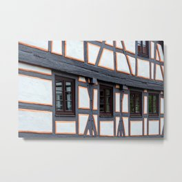 Concept city : Windows Metal Print