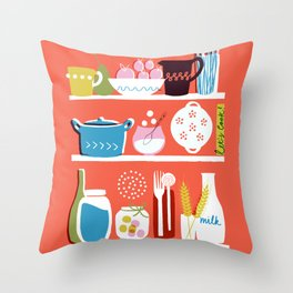 Let's Cook! Throw Pillow