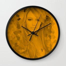 Hilary Duff - Celebrity Wall Clock