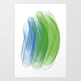 worm holes Art Print